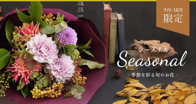 季節のお花はこちら