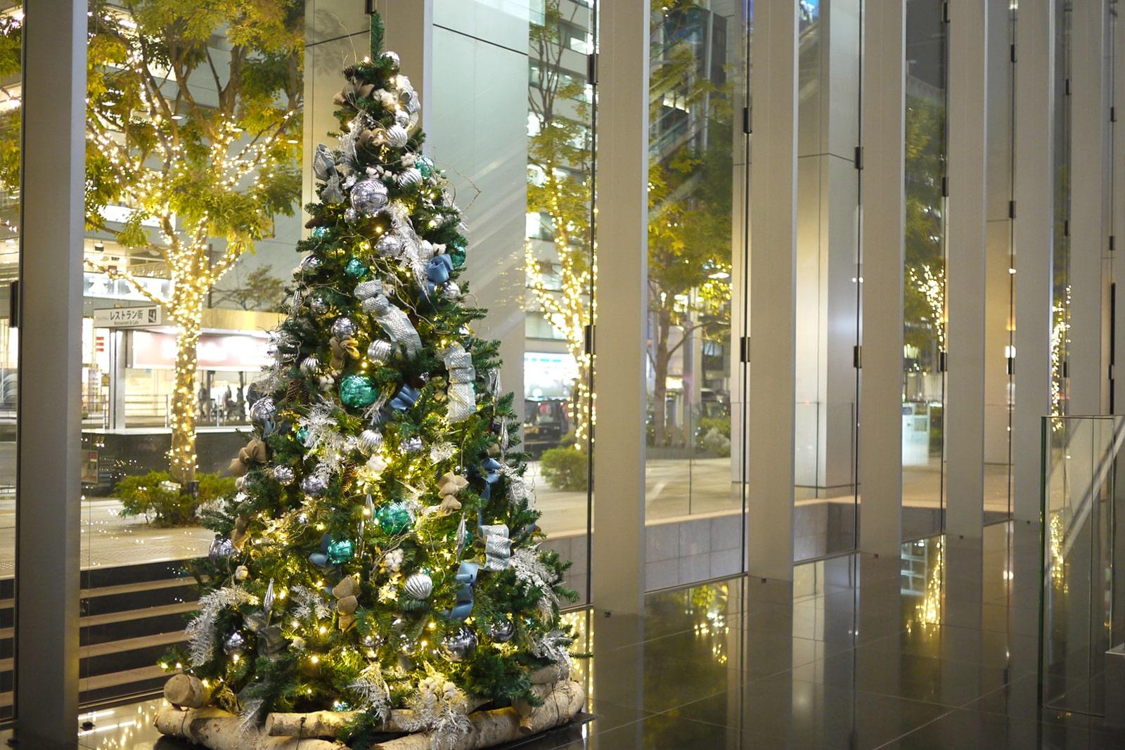 レミルフォイユドゥリベルテのクリスマス装飾