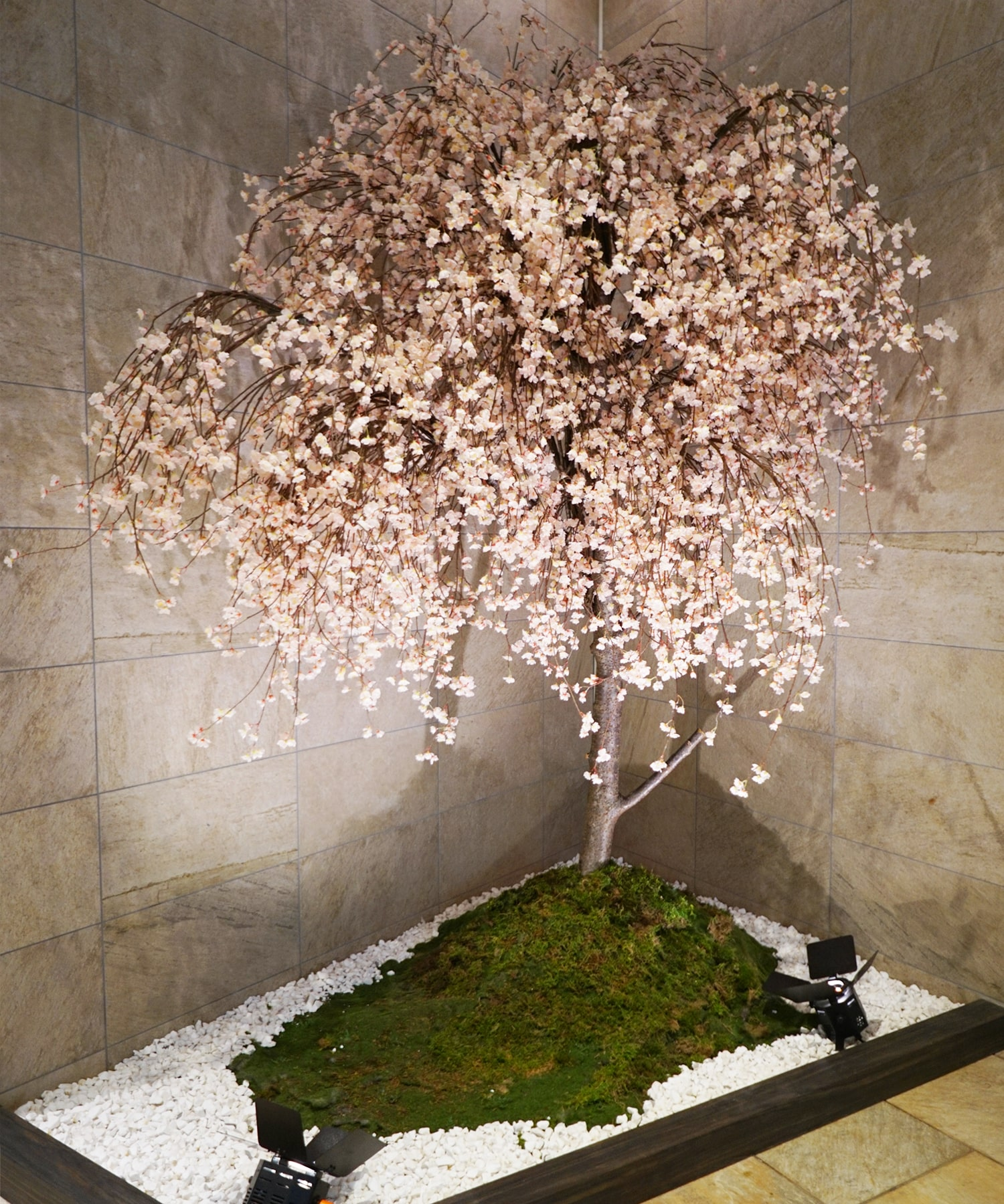 レミルフォイユドゥリベルテの季節の空間装飾・桜